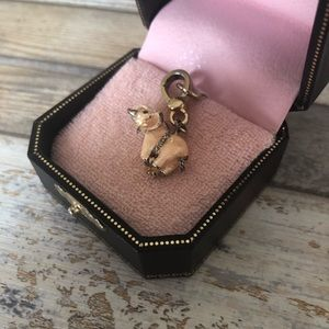 Juicy Couture Jewelry - Juicy Couture Pink Elephant Circus Pendant Charm